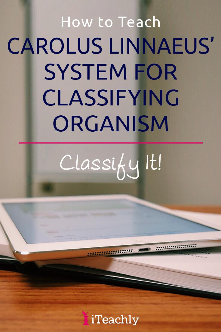 Carolus Linnaeus' System Worksheet