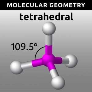 Molecular Geometry Worksheet - Tetrahedral
