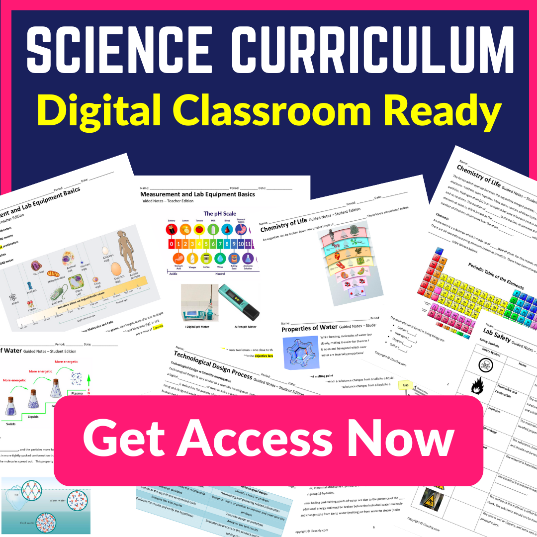 NGSS Science Curriculum